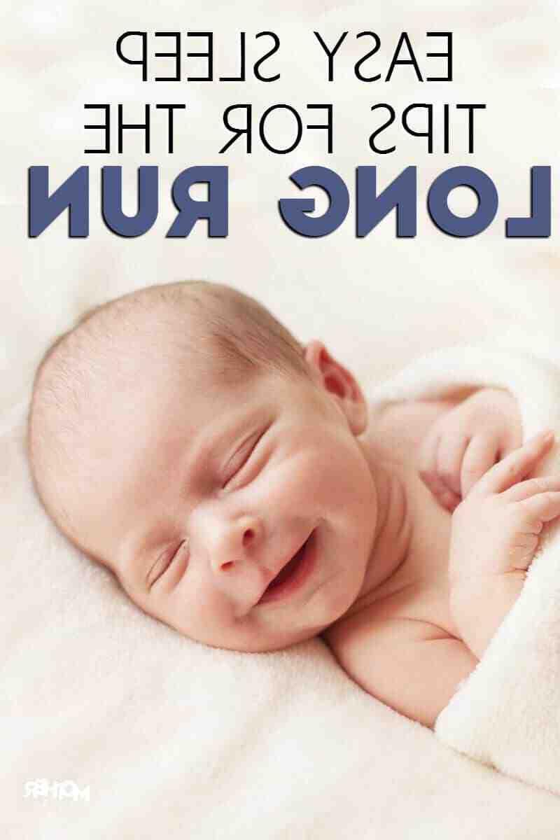 Comment endormir un bébé sans le faire téter
