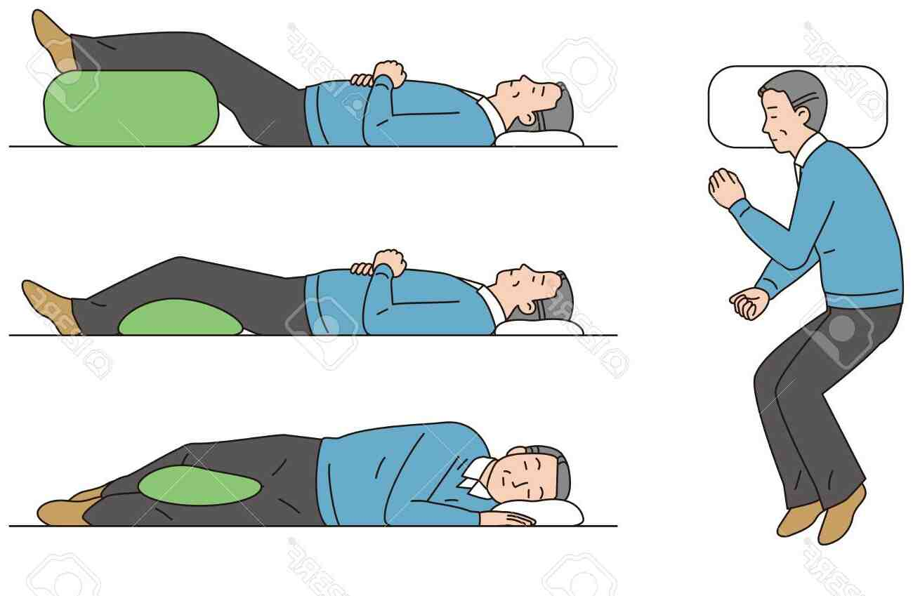 Comment dormir mal de dos