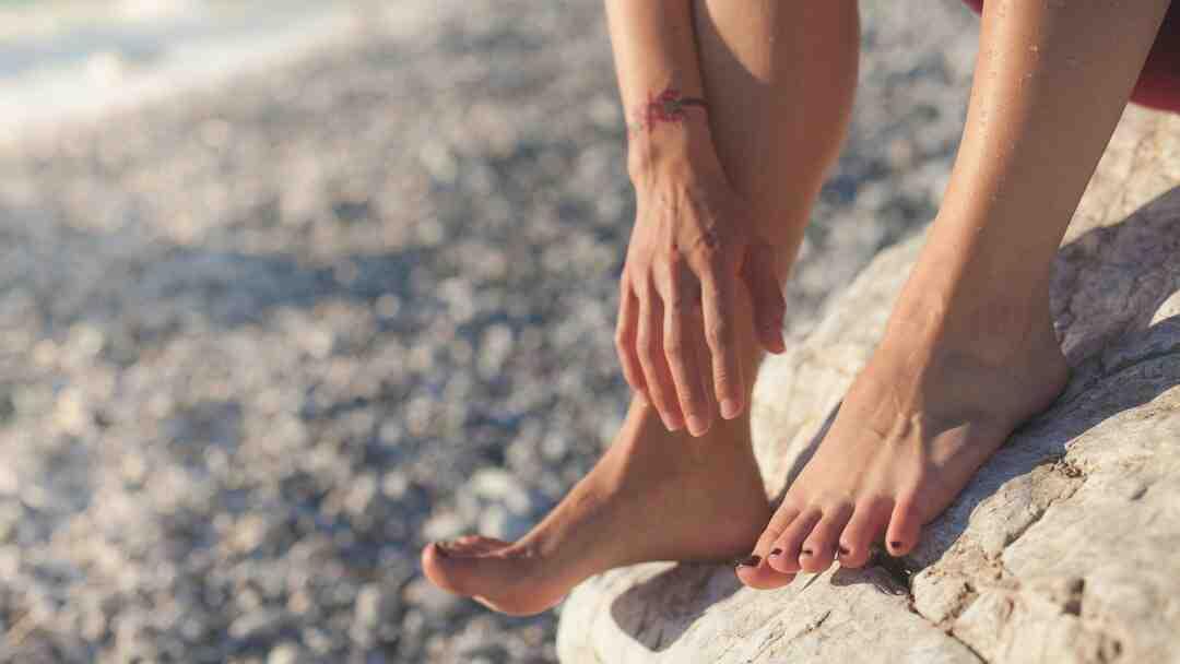 Comment enlever verrue pied